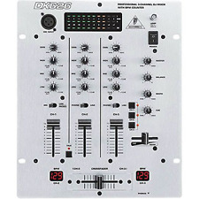 Behringer Pro Mixer Dx626 Professional 3-Channel Dj Mixer With Bpm Counter