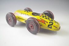 MARX #2 TIN RACE CAR WIND-UP TOY VINTAGE