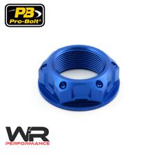Yamaha XVZ1200TD Venture Royale 84-85 Probolt Blue Steering Stem Yoke Nut