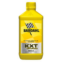 1 LT Bardhal Bardahl RACING KXT OFF ROAD OLIO SINTETICO 2T CROSS ENDURO TRIAL
