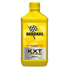 1 LT Bardhal Bardahl RACING KXT OFF ROAD OLIO SINTETICO 2T CROSS ENDURO TRIAL