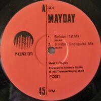 "MAYDAY - Sinister 1st ~ 12"" Single"