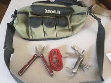 Hunting Fishing Bag OutdoorLife Daiwa Shoulder Bag Reel Storage Backpack,knife