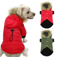 Dog Coat For Chihuahua Puppy Per Hoodie Jacket With Fur Small Dogs Warm Clothes