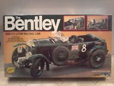 The Bentley 1930 4 1/2 Liter Racing Car,1/12 scale model car, MPC, Vintage, 1982