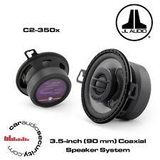 """JL Audio c2-350x - 3,5 """" 90mm 2-way Coassiale Altoparlanti Auto 150 Watt Altoparlanti DASH"""