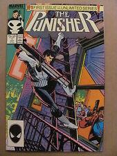 Punisher #1 #2 #3 #4 #5 #6 #7 Marvel 1987 Series