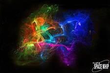 Insane LED lightshow toy galactic fiber fly flow whip glow flies swivel handle