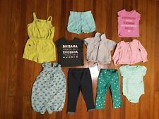 Lot of 10 Baby Size 18-24M: Carter's, Garanimals, The Children's Place & Other