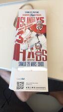 unused season hockey tickets Montreal Canadiens featuring Carey Price march 28