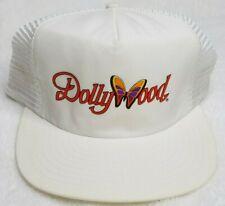 New Vtg 80s Dolly Parton Dollywood Snapback Mesh Trucker Hat Cap Butterfly
