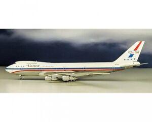 Inflight200 IF741UA0818P 1:200 Boeing 747-100 United Airlines Friendship N4716U