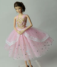 Doll's Clothing Princess Dress Ballet Clothes For Barbie Doll B06