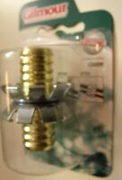 "Gilmour Hot Water Mender 3/4"" Hose Repair Brass C34HM"