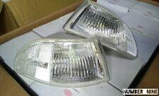 Corner Lights Clear Signal Lamps For 92-95 Honda Civic eg Sedan 4dr eg8 eg9