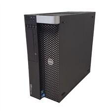"""Dell Precision T3600 8-Core 2.60GHz Xeon E5-2670 64GB RAM No 3.5"""" HDD No OS"""