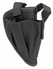 Black Right Handed Gun Belt Holster w/ Clip Pouch BB Airsoft Pistol Handgun 5505