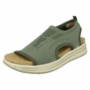 Ladies Remonte Wedge Heel Sandals R2955