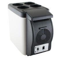 Portable Electric Car Mini Fridge Refrigerator Cooler Warmer Travel Camping Box