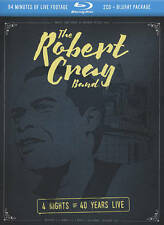 The Robert Cray Band: 4 Nights of 40 Years - Live- 3 disc set;  2 CD & Blu-ray