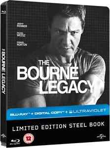 THE BOURNE LEGACY - UK BLU-RAY STEELBOOK / NEW & SEALED