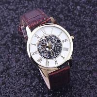 Élégant-montre-Homme-Cadran Noir-Or-Inox-Acier-Date-Quartz-Montre-acier