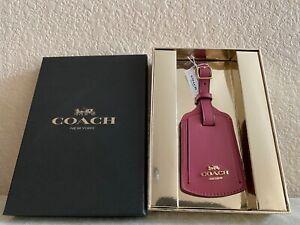 COACH Leather Luggage Tag 89015