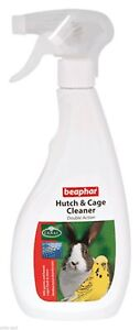 Beaphar Antibacterial Hutch & Cage Cleaner - Cleans & Disinfects Birds & Rodents
