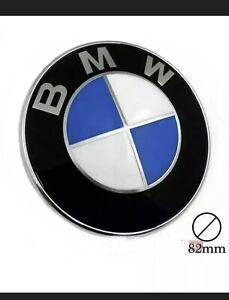 Stemma Per BMW 316 318 320 325 328 D Logo Cofano Fregio Anteriore 82mm Touring