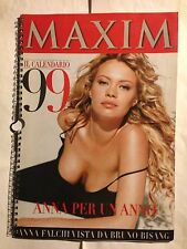 ANNA FALCHI • Calendario 1999 MAXIM •