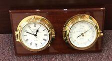 Used In Good Condition,Wempe Chronometerwerke Hamburg Barometer And Clock