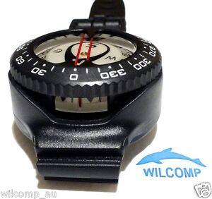 Saekodive Scuba Dive Underwater Wrist Compass Black WIL-CB-01