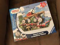 Ravensburger Thomas & Friends: World Shaped Floor Puzzle (24 Piece)- New Sealed!