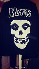 Vintage Lee Jeans Custom Throwback Denim Misfits Jacket XL Grunge! Rockstar