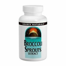 Source Naturals Broccoli Sprouts Extract, 60 Tablets Dietary Supplement.