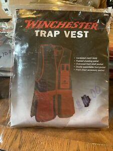 Winchester Red Black Trap Skeet Shooting Hunting Size: SML