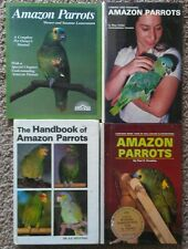 Amazon Parrots Owner's Manual lot of 4 books