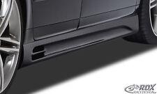 RDX Seitenschweller Audi A4 B7 8E Seiten Schweller Set Spoiler Leisten ABS SL145