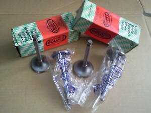 EXHAUST VALVE SET FOR JEEP WILLYS L-134 ENGINE MB-CJ2A