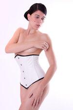 Rindnappaleder sous poitrine corset, underbust corset