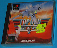 Top Gun - Fire At Will! - Sony Playstation - PS1 PSX - PAL