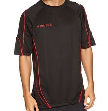 "KOOGA Pro Tech Teamwear T-shirt Black Red Size Small 39"" Rugby shirt"