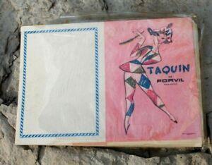 lot de calendriers 1963 taquin de forvil ( parfum )