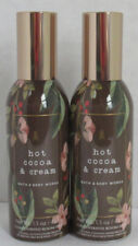 Bath & Body Works Concentrated Room Spray HOT COCOA & CREAM Lot Set of 2