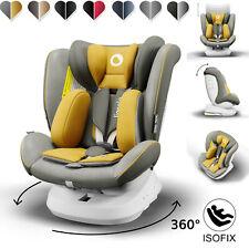 Autokindersitz mit ISOFIX Kindersitz 360° drehbar Lionelo Bastiaan One 0-36 kg