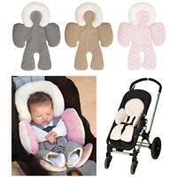 1X Newborn Baby Car Seat Stroller Cushion Pad Liner Mat Head Body Support Pillow