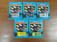 5 x TINTOYS (?)  MINI SPORT MODELLAUTO 1975 (genre CORGI MATCHBOX) CARDBOX (1)