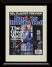 Framed John Wall Sports Illustrated Autograph Replica Print - Kentucky Wildcats