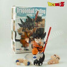 "Dragonball Z Dragon Ball Styling Child Goku 7cm/2.8"" PVC Figure New In Box"