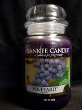 Yankee candle Vineyard large jar HTF